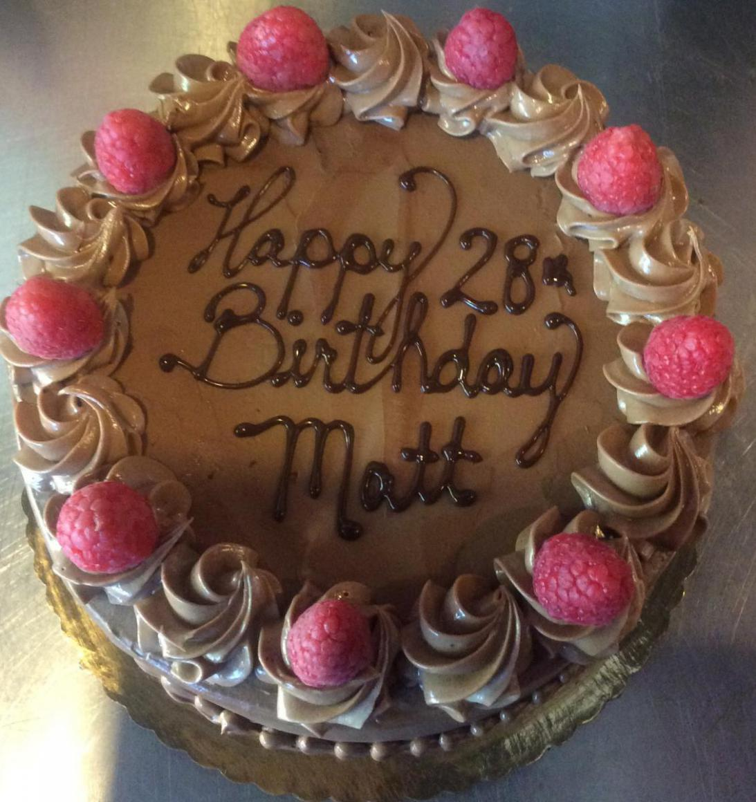 We Offer Our Birthday Cakes In A Variety Of Sizes To Best Suit Your Needs Are Round And Typically Come 6 8 Or 10 All